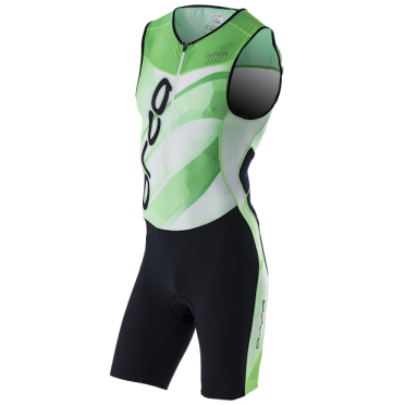 Orca 226 Kompress trisuit black/green men