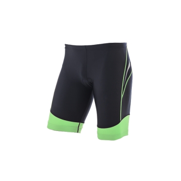 Orca Core tri short black/green men