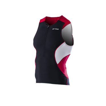 Orca Core tri top black/red men