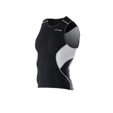 Orca Core tri top black/white men