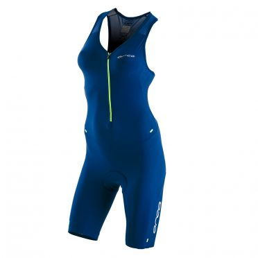 Orca 226 Kompress race trisuit sleeveless blue women