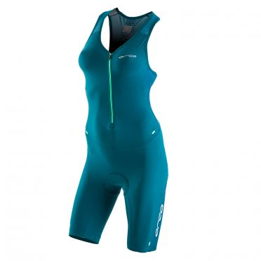 Orca 226 Kompress race trisuit sleeveless blue women Kopie