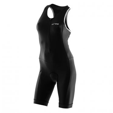 Orca core basic race trisuit sleeveless black women