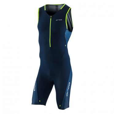 Orca 226 Kompress race trisuit sleeveless blue men