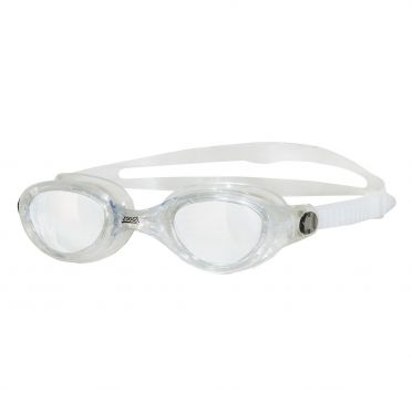 Zoggs Phantom clear goggles white