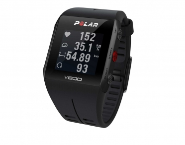 Polar V800 GPS sports watch with heart rate sensor black