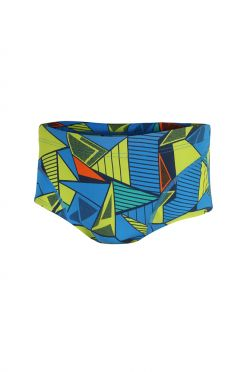 Zone3 Prism 2.0 swim brief blue/yellow men