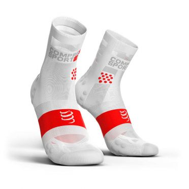 Compressport Pro Racing V3.0 ultralight running socks white