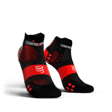 Compressport Pro Racing V3.0 ultralight low running socks black