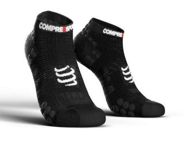 Compressport Pro racing v3.0 low running socks black