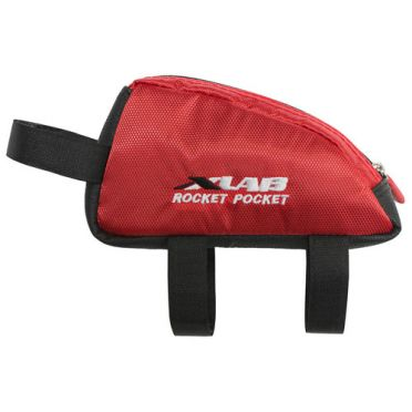 XLAB Rocket pocket top tube bag red
