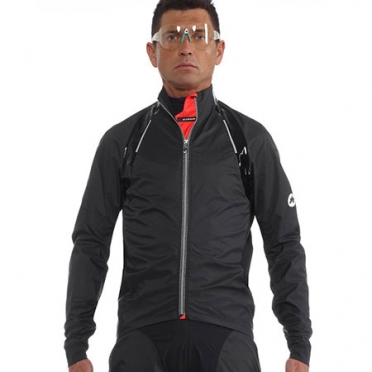 Assos rS.sturmPrinz EVO rain jacket black men