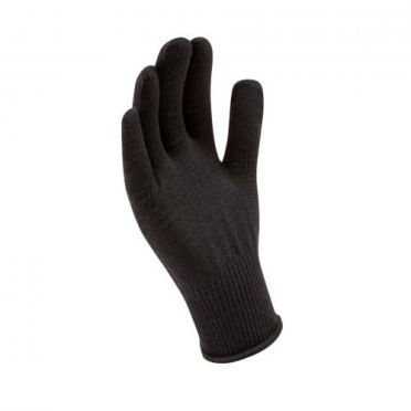 Sealskinz Solo Merino gloves black