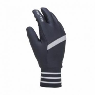 Sealskinz Solo reflective gloves black