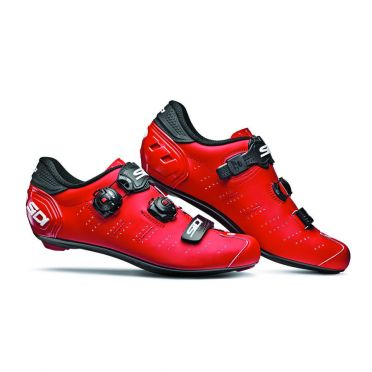 Sidi Ergo 5 matt road shoe red men