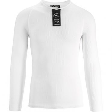 Assos Skinfoil LS Summer long sleeve baselayer white unisex
