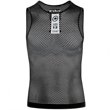Assos Skinfoil NS Summer sleeveless baselayer black unisex