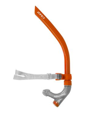 Zone3 Front facing snorkel orange
