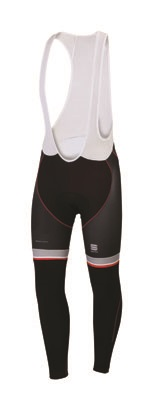 Sportful Bodyfit Pro Thermal Bibtight black-red men 01392-002