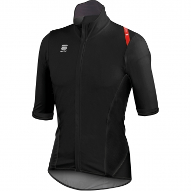 Sportful Fiandre Light Norain Short Sleeve black men