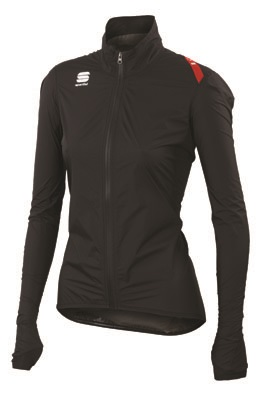 Sportful Hotpack Norain Cycling jersey black women 01338-002