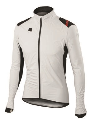 Sportful Hotpack Norain Jacket white-black men 01337-102