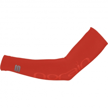 Sportful No Rain arm warmers red 00779-567