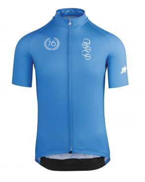 Assos ForToni short sleeve cycling jersey azzurro men