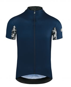 Assos Mille GT short sleeve cycling jersey blue men