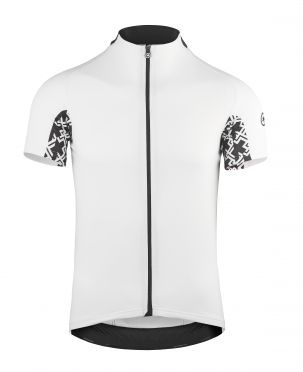 Assos Mille GT short sleeve cycling jersey white men