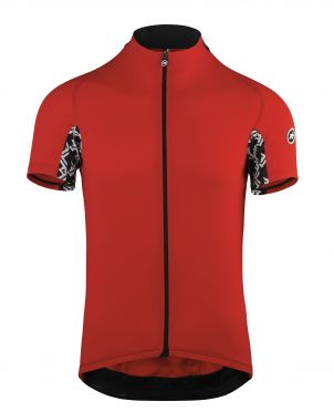Assos Mille GT short sleeve cycling jersey red men