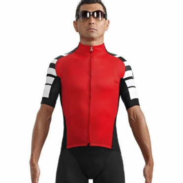 Assos SS.cento cycling jersey red men