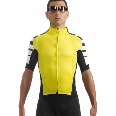 Assos SS.cento cycling jersey yellow men