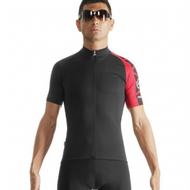 Assos SS.milleJersey_evo7 cycling jersey red men