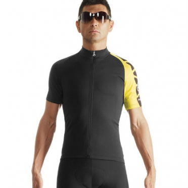 Assos SS.milleJersey_evo7 cycling jersey yellow men