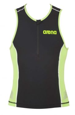 Arena ST sleeveless tri top black/green men