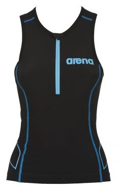 Arena ST sleeveless tri top black women