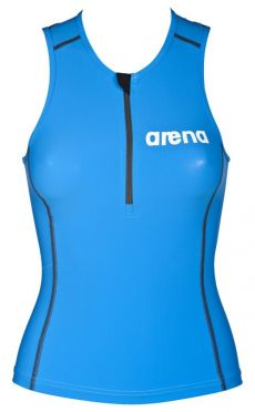 Arena ST sleeveless tri top blue women