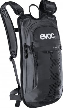 Evoc Stage 3L + 2L bladder backpack black