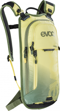 Evoc Stage 3L + 2L bladder backpack yellow