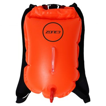 Zone3 Swimrun backpack buoy orange