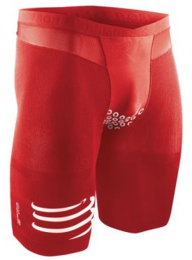 Compressport Brutal short v2 compression short red