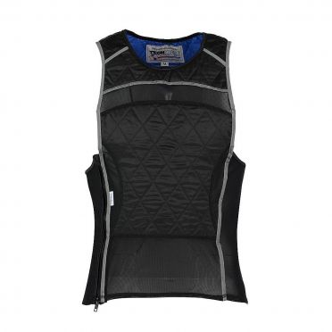 TechNiche KewlShirt evaporative cooling tank top black/silver