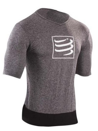 Compressport Training t-shirt grey men