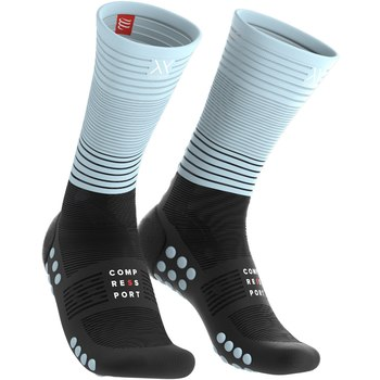 Compressport Mid Compression socks Oxygen black/blue