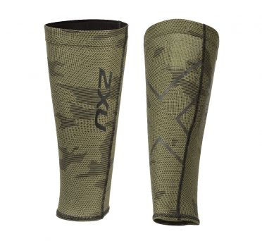 2XU compression calf guards green
