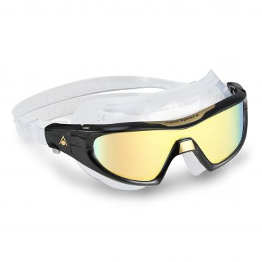 Aqua Sphere Vista Pro multilayer mirror lens goggles black