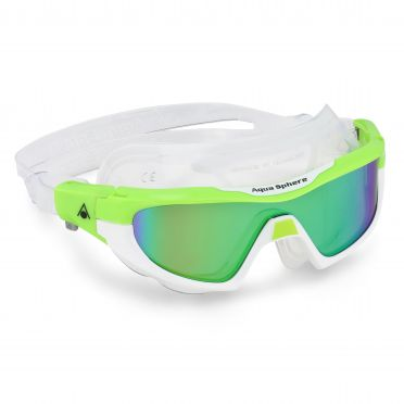 Aqua Sphere Vista Pro multilayer mirror lens goggles green/white