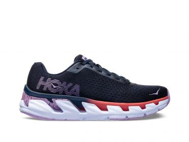 Hoka One One Elevon running shoes blue/purple women