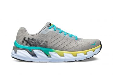 Hoka One One Elevon running shoes silver women